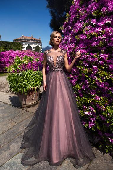 80fb9510bc611a4 Вечернее платье арт 27001 купить в салоне «Интерстиль»